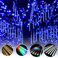 30cm LED Meteor Shower Falling Star Rain Drop Icicle Snow Outdoor String Light