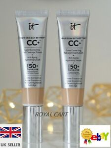 IT CC COLOUR CORRECTING CREAM SPF50+ YOUR SKIN BUT BETTER 32ml FAST DISPATCH