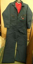 GENUINE US ARMY ISSUED LINED COVERALL/BOILER SUIT BY 'DICKIES' -SIZE 46R