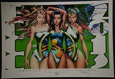 Michael Turner Aspen Art Print Limited to 125 Emerald City ComicCon 2013