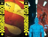Doomsday Clock #12 (of 12) A&B Cover variant Set Ships FREE Ship Watchmen NOW