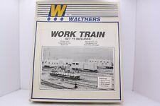 Walthers HO Scale Pennsylvania Railroad Work Train Set #1 6 Car Kit NOS 932-88