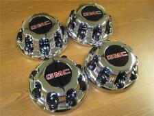 01-10 GMC Sierra 2500 3500 Truck Savanna Van 8 Lug OEM Chrome Center Caps!