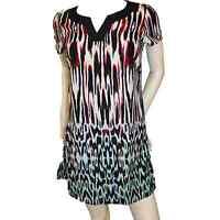 Ladies Kaftan Holiday Beach Dress Cover Up Long Blouse Tunic Cap Sleeve