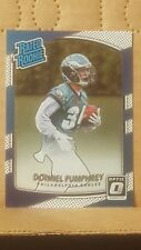 Donnell Pumphrey 2017 Optic Rated Rookie Card Philadelphia Eagles Running Back