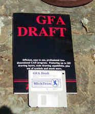 GFA Draft/CAD for Atari 520/1040 ST NEW