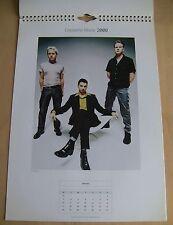 Depeche Mode Official 2000 Calendar Poster