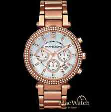 Michael Kors Damen Uhr MK5491 Chronograph Edelstahl, rose NEU OVP