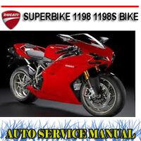 Ducati 1098 1098s Workshop Service Repair Manual Ebay