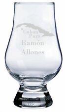 Ramon Allones Cuban Cigar Engraved Glencairn Crystal Scotch Whisky Glass