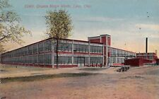 Lima Ohio~Gramm Motor Works~Car Truck Factory~Loading Dock~Workers~1911 PC
