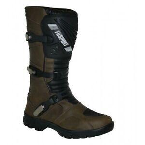 Fusport Simpson Desert Motorcycle Adventure Riders Boots - Brown