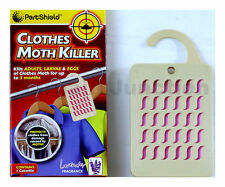 PestShield Hanging Wardrobe Moth Killer Lavender Fabric Freshener Repellent New