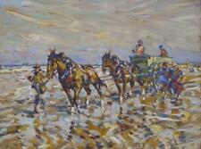 Julius Seyler Fischer Pferdewagen Krabben Bretagne Flandern Belgien Nordsee Watt