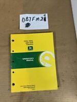 John Deere 7210 7410 & 7510 Utility Tractor Owner Operator Manual OMAR168939 NOS