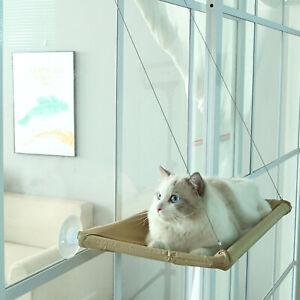 Cat Window Perch Suction Cups Cat Seat Bed Basking Hammock Around 360° Sunbath