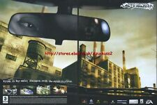 Need For Speed Most Wanted 2005 Double Page Magazine Advert #2392