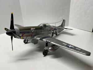 "Elite Force WWII 1:18 P-51D North American Mustang ""Killer"" BBI RARE P-51"