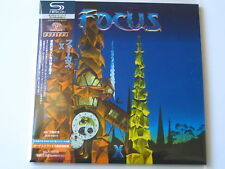 "FOCUS  ""FOCUS X""  Japan mini LP SHM CD"
