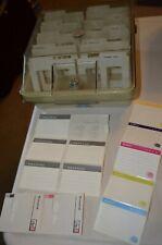 "3.5"" Computer Apple Mac Floppy Disk Organizer Storage Case No Key VTG 80s 90s"