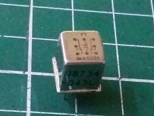 5 x Hi-G Military Grade RF Relay , Sensitive Signal Switching DPDT