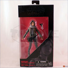 "Star Wars The Black Series Sgt. Sergeant Jyn Erso (Jedha) (#22) 6"" action figure"