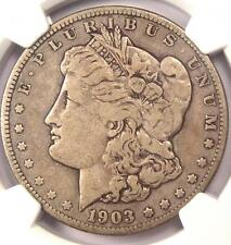 "1903-S Morgan Silver Dollar $1 Small Micro ""S"" VAM-2 - NGC F12 - Rare Variety"