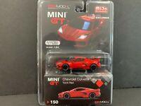 Mini GT Chevrolet Corvette C8 Stingray 2020 Torch Red MGT00150 1/64
