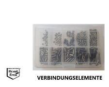Gewindestifte Sortiment/Set DIN 914 EDELSTAHL A2 M5 250 Teile