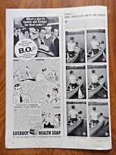 1940 Lifebuoy Soap Bar Ad Lifebuoy Health Soap on Airplane Theme