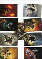 lot de 28 cartes brom fpg collection JDR comics