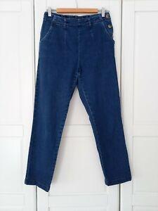 Seasalt Blue Denim Waterdance Trousers Jeans UK10