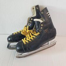 Vintage 70s ADIDAS TORONTO Professional Ice Skates size 9.5 NHL YUGOSLAVIA