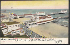 America Postcard - Steeplechase & Steel Piers, Atlantic City, New Jersey RT1309