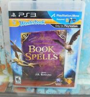 PS3 Playstation 3 Wonderbook Book Of Spells JK Rowling