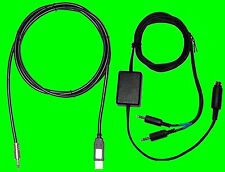 Icom USB CAT + Transformer Isolated PSK31 Cable IC-7000, 703, 7410, 7200 +++