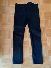 Label Under Construction Wool Trousers/Wollhose, Black/Schwarz, Good Condition