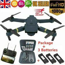 Eachine E58 2.4G RC Drone FPV Wifi 1080P Camera Foldable Quadcopter+3 Batteries