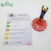 Heroclix Avengers Assemble set Steve Rogers (Nova) #061 Chase figure w/card!