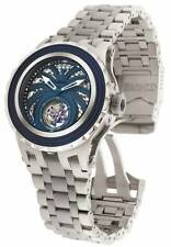 INVICTA SUBAQUA MECHANICAL TOURBILLON BLUE DIAL ST.STEEL MEN'S WATCH 1684 NEW