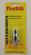 Firestik K-4R CB Radio Antenna Stud Mount for Cables w/ Fire-Ring Connector