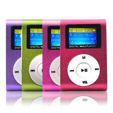 Protable Mini Clip USB Digital MP3 Music Players Support 32GB TF/SD Card Walkman