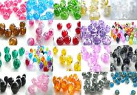 Glass Crackle Beads 4mm Choose your Colour & Quantity! Jewellery Making