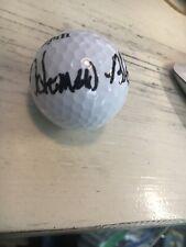 Homero Blancas  Signed  Golf  Ball COA