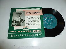 """ROY ROGERS - King of the Cowboys - 4-track 7"""" vinyl single"""