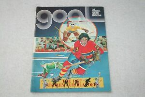 1977 Los Angeles Kings Playoff PROGRAM vs Boston Bruins Game 4 @ Forum