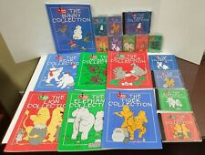 LOT OF 7 BOOKS 7 TAPES 5 CDs The Music Class MONKEY LION BEAR BUNNY DINO TIGER