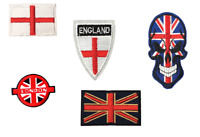 Flags Country United Kingdom England London Embroidered Sew Iron On Patch Badge