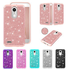 For LG Stylo 5 4 Aristo 3 K30 K40 G7 G8 V40 ThinQ Glitter Shockproof Case Cover