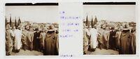 Procession Musulmano Algeria Foto n1 Placca Da Lente Stereo 14-4-1903
